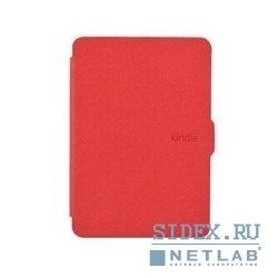 обложка kindle paperwhite с функцией sleep/wakeup kp-010,  красный