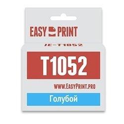 Картридж для Epson Stylus C110, C79, CX3900, CX4900, CX5900, CX6900F, CX7300, CX8300, CX9300F (EasyPrint IE-T1052) (голубой, с чипом)