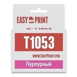Картридж для Epson Stylus C110, C79, CX3900, CX4900, CX5900, CX6900F, CX7300, CX8300, CX9300F (EasyPrint IE-T1053) (пурпурный, с чипом)