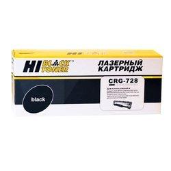 Картридж для Canon i-SENSYS MF4410, MF4430, MF4450, MF4550d, MF4570dn, MF4580dn (Hi-Black CRG-728) (черный, с чипом)