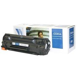 Картридж для HP LaserJet M1130 MFP, M1132 MFP, Pro P1100, P1101, P1102, P1102s, P1102w, P1103,  P1104,  P1104W,  P1106, P1106W, P1108, P1109 (NV Print CE285A_NVP) (черный)