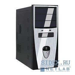 ������ miditower qori-3345 a2 (�����-�����) (450w) usb/audio/sata atx (front panel metall)