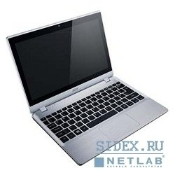 "ноутбук acer aspire v5-122p-42154g50nss a4 1250/4gb/500gb/hd8210/11.6""/hd/touch/1366x768/win 8 starter/silver/4c/wifi/cam [nx.m8wer.001]"