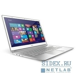 "acer aspire s7-391-73534g25aws 13.3"" multi-touch fhd,  intel® core™ i7-3537u,  4gb,  256gb ssd,  bt4.0,  4-cell li-po,  win8sl [nx.m3eer.004]"