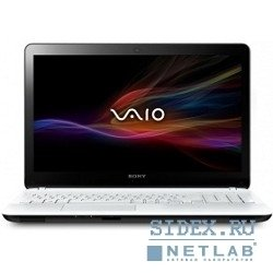 "ноутбук sony sv-f1521f1r/w 2117u/15, 5""/1366x768/4gb/500gb/intel® hd graphics,  win8,  white"