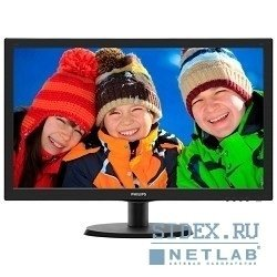 "монитор lcd philips 21.5"" 223v5lhsb (00/01) glossy-black tn led 5ms 16:9 hdmi 10m:1 250cd"