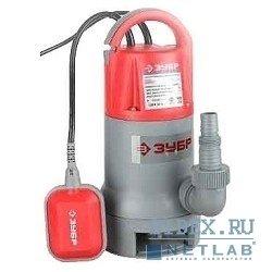 Насос погружной для грязной воды ЗУБР (ЗНПГ-550)