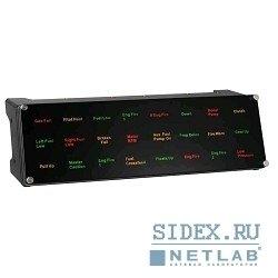 �������� SAITEK. ��������� ��� ��������� Pro Flight Backlit Information Panel (SCB432040002/04/1)