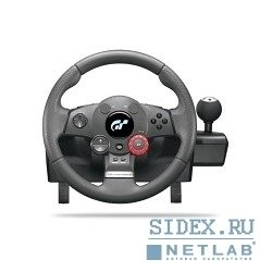руль 941-000021 logitech driving force gt for pc-ps3 (руль для pc и ps3)