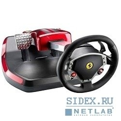 руль thrustmaster [2960709] ferrari wireless gt cockpit 430 (usb,  wheel + pedals) rtl