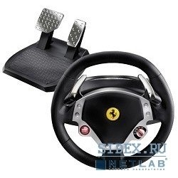 руль thrustmaster [2960710] ferrari f430 pc (руль)