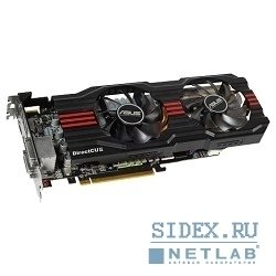 видеокарта asustek hd7850-dc2t-2gd5-v2,  rtl,  2 gb,  gddr5,  hd7850 dp,  hdmi, dual dvi,  pci-e