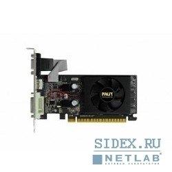 Palit GeForce 210 589Mhz PCI-E 2.0 512Mb 1250Mhz 32 bit DVI HDMI HDCP OEM