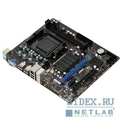 материнская плата msi 760gm-p21(fx) oem  am3+,  amd760g,  ddr3-1333,  pci-e,  8ch audio,  sataii,  matx