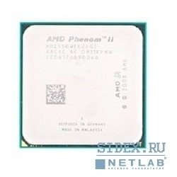 процессор cpu amd phenom ii x2 545 3.0ггц,  2x512кб+6мб,  ht2000мгц,  socketam3 oem