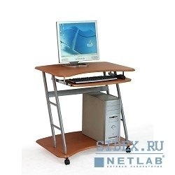 Компьютерный стол DL-E02/Cherry. Стол для компьютера,  МДФ,  вишня