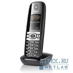 радиотрубка gs c610h shiny black
