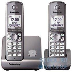 Panasonic KX-TG6712 (серый)