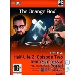 игры orange box: hl2/hl2 episode 1/hl2 episode 2/team fortress 2/portals (dvd-box)