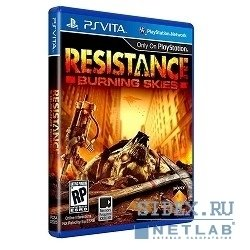 игры resistance burning skies (русская версия)