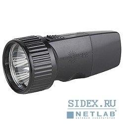 Светодиодный фонарь (ЭРА 5xLED SDA30M) (черный)