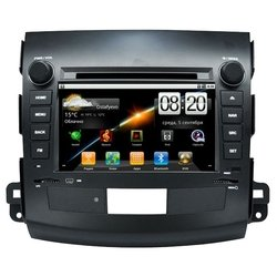 carsys android mitsubishi outlender 7""