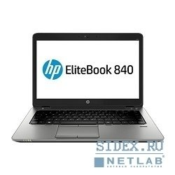 "h5g17ea elitebook 840 core i5-4200u 1.6ghz, 14"" hd led ag cam, 4gb ddr3l(1), 500gb 7.2krpm, wifi, bt 4.0, 3ccl, fpr, 1.58kg, 3y, dos"