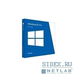Windows Professional 8.1 64-bit Russian 1pk DSP OEI DVD (FQC-06930)