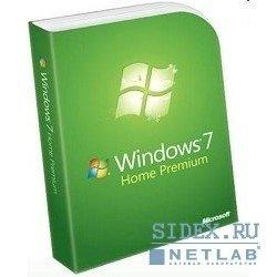 Коробочное программное обеспечение GFC-02398 Win Home Prem 7 Russian Only DVD