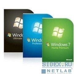 Коробочное программное обеспечение FQC-05347 Win Pro 7 Russia Only DVD