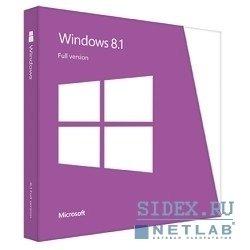 Windows 8.1 32-bit/64-bit Russian Only DVD (WN7-00937)