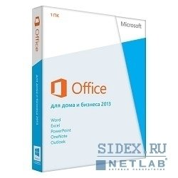 Microsoft Office Home and Business 2013 32-bit/64-bit Russian Only EM DVD No Skype (T5D-01763)
