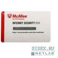 Коробочное программное обеспечение MIS149EC1RAO McAfee Internet Security 2014