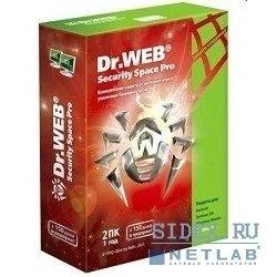 Dr. Web Security Space PRO 2 ПК 12 месяцев (AHW-B-12M-2-A2/BHW-B-12M-2A3/BHW-B-12M-2A2)