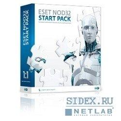 ESET NOD32 START PACK 1ПК на 1 год (NOD32-ASP-NS) (коробка)