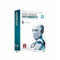 ESET NOD32 + Bonus + расширенный функционал 3 ПК  на 1 год или продление на 20 месяцев (NOD32-ENA-1220(BOX)-1-1) (коробка)