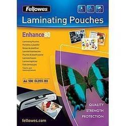Пленка для ламинирования 80 мкм, A4 (Fellowes FS-53061) (100 шт.)