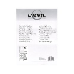 ������ ��� ������������� 75 ���, �4 (Fellowes Lamirel LA-7865601) (100 ��.)