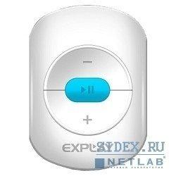 MP3 плеер Explay A1 4Гб (белый, голубой)