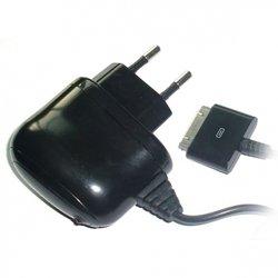 Сетевое зарядное устройство для Apple iPhone 3GS, 4, 4S, iPad, 2, 3 new, iPod Nano 6, touch 4 (Ritmix RM-017) (черный)