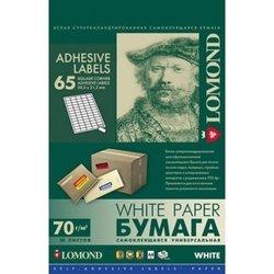 Самоклеющаяся бумага универсальная A4 (50 листов) (Lomond 2100215)