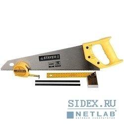 Набор инструментов для столярных работ STAYER (STANDARD 15084-H5) (5 предметов)