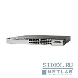 коммутатор ws-c3850-24pw-s cisco catalyst 3850 24 port poe with 5 ap license ip base