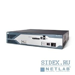 оборудование доступа  cisco2851 [2851 w/ ac pwr, 2ge, 4hwic, 3pvdm, 1nme-xd, 2aim, ip base, 64f/256d]
