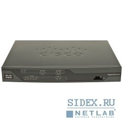 Маршрутизатор Cisco 887 VDSL/ADSL over POTS Multi-mode Router (CISCO887VA-K9)