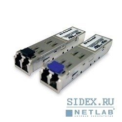 сетевое оборудование d-link dem-312gt2/d1a/ve1/e1a 1-port mini-gbic 1000base-sx+ multi-mode fiber transceiver (lc,  up to 2km,  support 3.3v power)