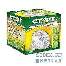 Галогенная лампа СТАРТ MR16 EXN 12V50WGU5.3