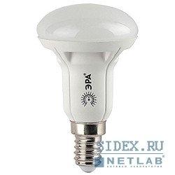 Светодиодная лампа ЭРА LED smd NEW (R50-6w-827-E14) (теплый)