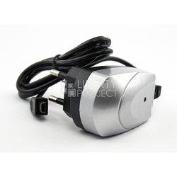 Сетевое зарядное устройство miniUSB (CD004288) (серый)