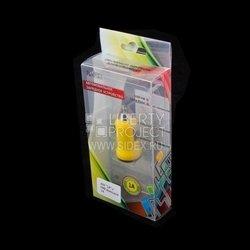 Автомобильное зарядное устройство USB (R0003908) (желтый)